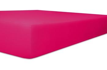 "Kneer Spannbetttuch Single-Jersey ""Qualität 60"" Farbe 52 fuchsia"