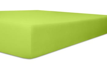 """Kneer Spannbetttuch Single-Jersey """"Qualität 60"""", Farbe 54 limone"""