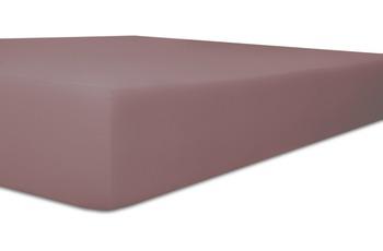 """Kneer Spannbetttuch Single-Jersey """"Qualität 60"""" Farbe 62 flieder"""