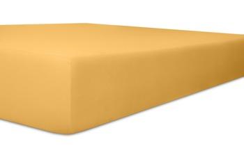 """Kneer Spannbetttuch Single-Jersey """"Qualität 60"""", Farbe 74 sand"""