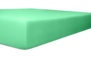 """Kneer Spannbetttuch Easy-Stretch """"Qualität 25"""", Farbe 35 lagune"""