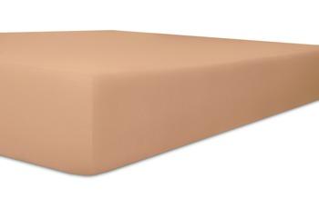 """Kneer Spannbetttuch Easy-Stretch """"Qualität 25"""" Farbe 71 marone"""