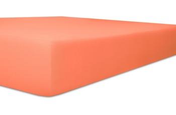 """Kneer Spannbetttuch Easy-Stretch """"Qualität 25"""", Farbe 73 ziegel"""