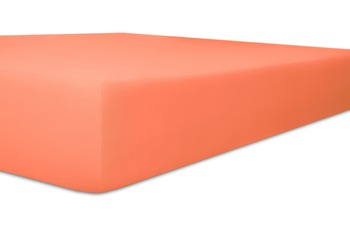 """Kneer Spannbetttuch Exclusive-Stretch """"Qualität 93"""" Farbe 73 ziegel"""