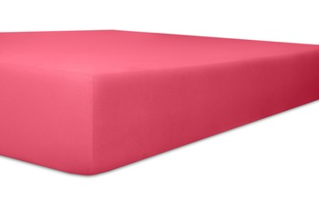 """Kneer Vario-Stretch """"Qualität 22"""" Spannbetttuch für Caravan, Boote und Wohnmobile Farbe 20 pink"""