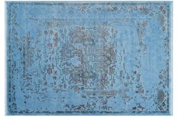 Lalee Teppich Galapagos - Pinta Blau