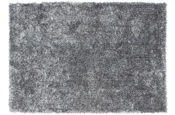 Lalee Teppich Madagaskar - Ambila Grau /  Weiß 120 x 170 cm