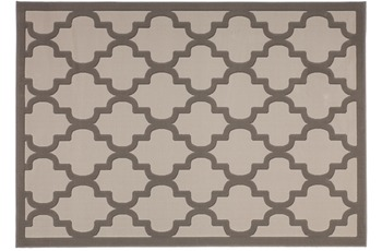 Lalee Teppich Manolya 3097 Taupe-Silber 200 x 290 cm