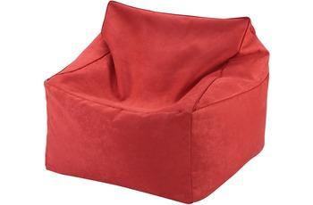 linke licardo Sitzwürfel, 2 in 1 Alka rot
