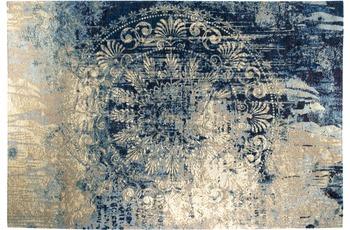 Luxor Living Vintage-Teppich Barock, blau-beige 160 x 235 cm