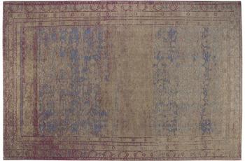 Luxor Living Vintage-Teppich Barock, braun 80 x 150 cm