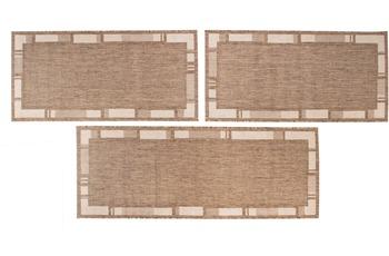 Luxor Living Bettumrandung New Orleans braun/  beige Bettumrandung 2x 67x140 1x 67x180cm