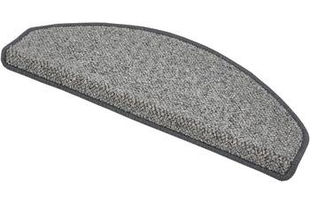 Luxor Living Stufenmatte Sheffield grau Stufenmatte (15 Stück) 28 x 65cm