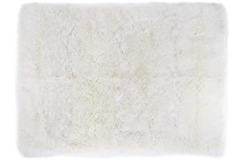 Luxor Living Teppich Davos, weiß 100 cm rund