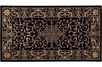 Luxor Living Teppich Kendra, creme-schwarz 80 cm x 150 cm