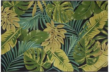 Luxor Living Teppich Kubana, schwarz-grün 80 cm x 150 cm