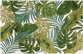 Luxor Living Teppich Kubana, weiß-grün 80 cm x 150 cm