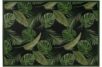 Luxor Living Teppich Labuka, schwarz-grün 80 cm x 150 cm