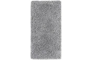 Luxor Living Teppich Levanto de Luxe silber grau Bettumrandung 2x 65x130 1x 65x200