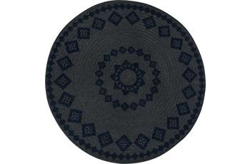 Luxor Living Teppich Mamda, grün 80 cm rund