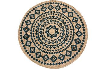 Luxor Living Teppich Mamda natur 80 cm rund
