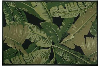 Luxor Living Teppich Palmero, schwarz-grün 80 cm x 150 cm