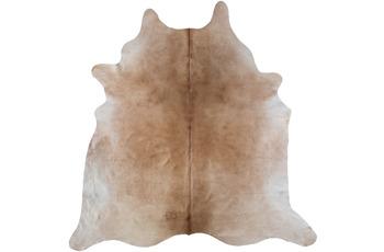 Luxor Living Teppich Rinderfell, beige gemustert