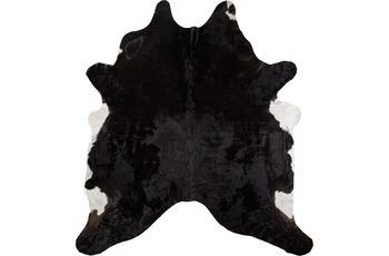 Luxor Living Teppich Rinderfell, schwarz gemustert