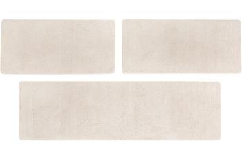 Luxor Living Teppich San Donato, beige Bettumrandung 2x 67x140 1x 67x240