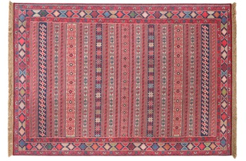 Luxor Living Teppich Unique multi, rot 140 x 200 cm