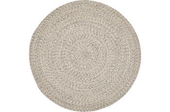 Luxor Living Teppich Varberg beige uni 80 cm rund
