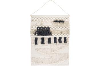 Luxor Living Wandteppich Skagen anthrazit-natur 60x80