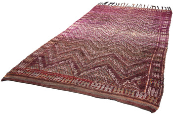 Tuaroc Beni Ourain Nomadenteppich Antique 173 cm x 316 cm
