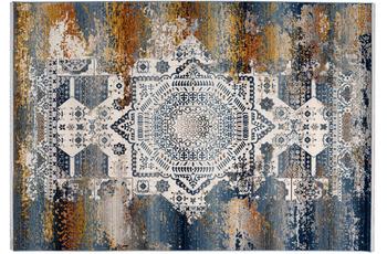 me gusta Teppich Anouk 925 Multi /  Blau