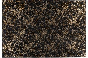 me gusta Teppich Bijou 225 Schwarz /  Gold