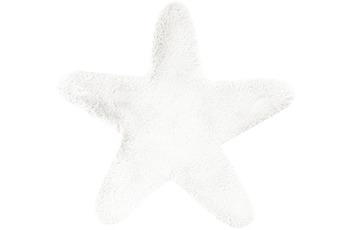 me gusta Kinderteppich Lovely Kids 1025-Star Weiß 60 x 63 cm