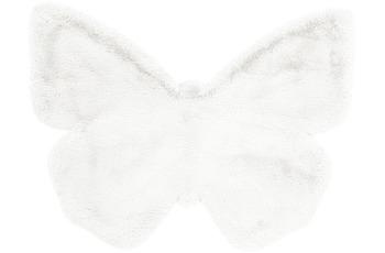 me gusta Kinderteppich Lovely Kids 1125-Butterfly Weiß 70 x 90 cm
