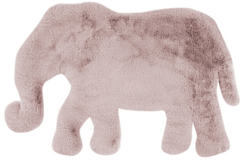me gusta Kinderteppich Lovely Kids 125-Elephant Rosa 60 x 90 cm