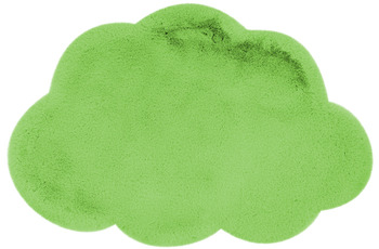 me gusta Kinderteppich Lovely Kids 1425-Cloud Grün 60 x 90 cm