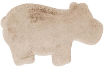 me gusta Kinderteppich Lovely Kids 325-Hippo Creme 55 x 90 cm