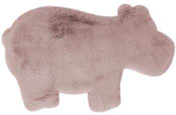 me gusta Kinderteppich Lovely Kids 325-Hippo Rosa 55 x 90 cm