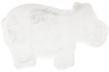 me gusta Kinderteppich Lovely Kids 325-Hippo Weiß 55 x 90 cm