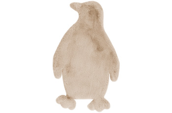 me gusta Kinderteppich Lovely Kids 525-Penguin Creme 52 x 90 cm