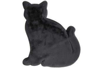 me gusta Kinderteppich Lovely Kids 625-Cat Anthrazit 81 x 90 cm