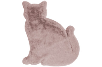 me gusta Kinderteppich Lovely Kids 625-Cat Rosa 81 x 90 cm