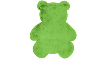 me gusta Kinderteppich Lovely Kids 825-Teddy Grün 73 x 90 cm