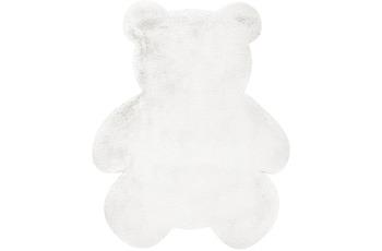 me gusta Kinderteppich Lovely Kids 825-Teddy Weiß 73 x 90 cm