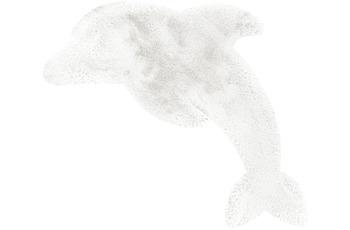 me gusta Kinderteppich Lovely Kids 925-Dolphin Weiß 64 x 90 cm