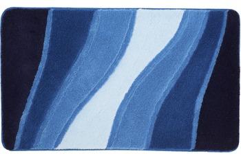 Meusch Bad-Teppich Ocean Royalblau 80 cm x 150 cm