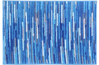 Meusch Badteppich Happy, Königsblau 65x 115 cm